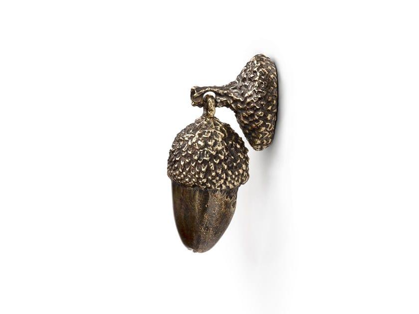 Brass Furniture knob ACORN EA1041 by PullCast