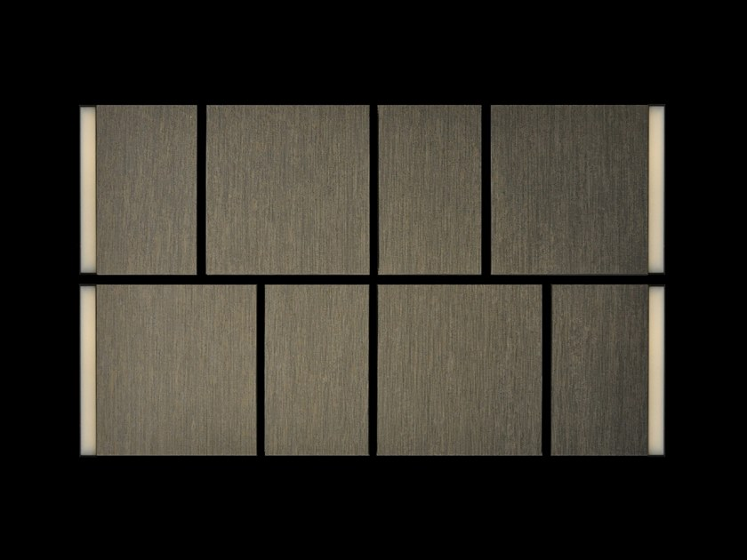 Acoustic panel with integrated lighting ACOUSTIC III by ZUMI