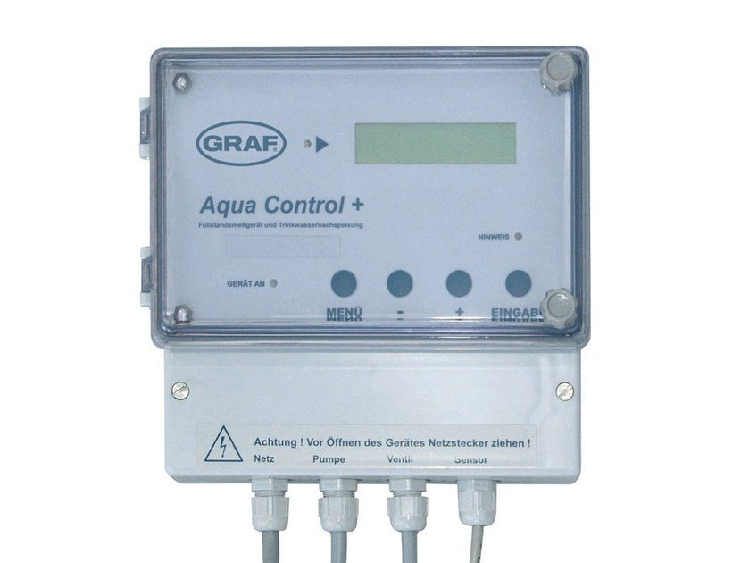 Meter, measurer for water system ACQUA CONTROL PLUS by Otto Graf