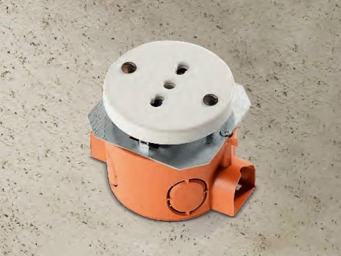 Single ceramic electrical outlet ACQUARIO | Electrical outlet by Aldo Bernardi