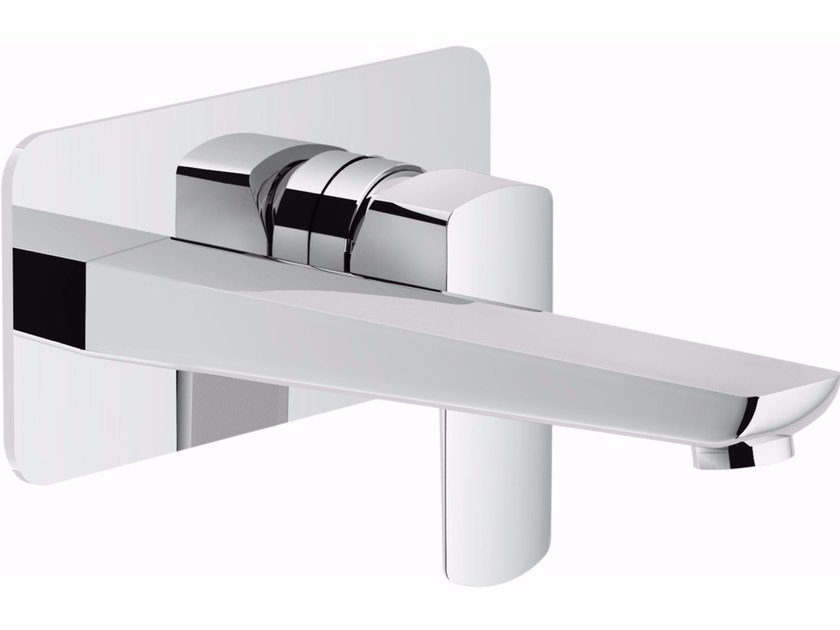 Wall-mounted washbasin mixer with flow limiter ACQUAVIVA | Wall-mounted washbasin mixer by Nobili Rubinetterie
