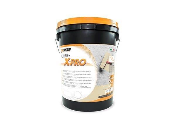 Liquid waterproofing membrane ACRIFLEX X-PRO by DIASEN