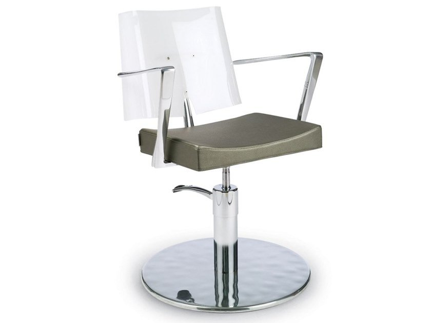 Hairdresser chair ACRILIA by Gamma & Bross