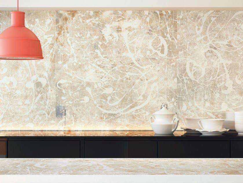 Rivestimento in gres porcellanato effetto cemento per interni ACTION LIGHT PAINT WHITE by CERAMICA FONDOVALLE