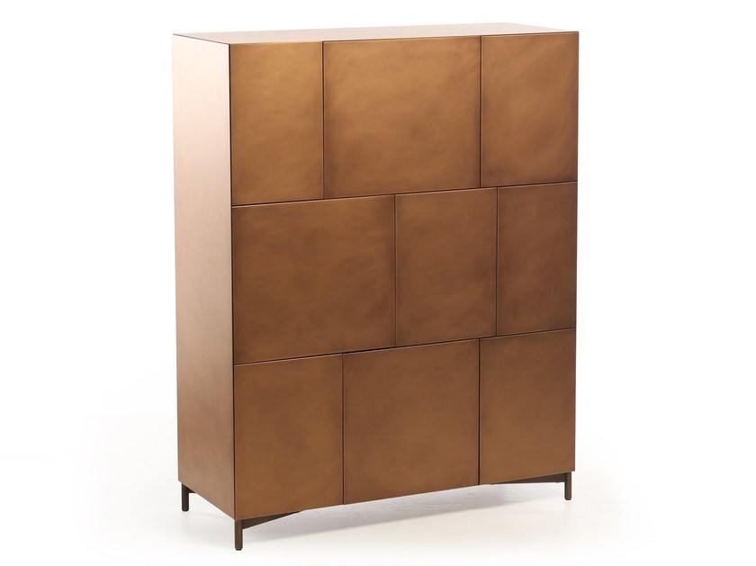 Lacquered highboard AD BOX | Highboard by Potocco