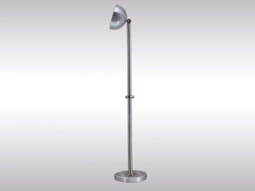Brass floor lamp AD4 | Floor lamp by Woka Lamps Vienna