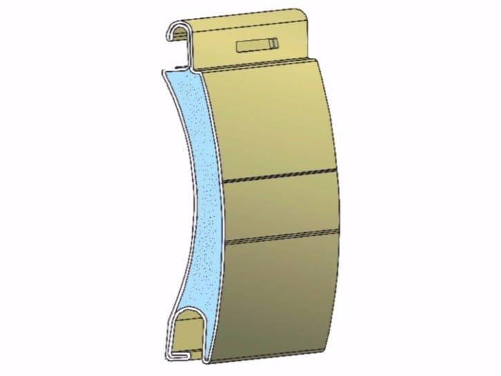 Insulated aluminium roller shutter AD45 by Teknika