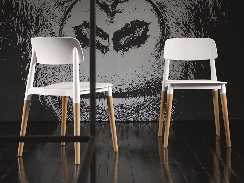 Polypropylene chair ADA by Dall'Agnese