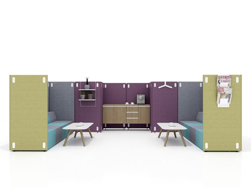 Acoustic office booth ADA by Tuna Ofis