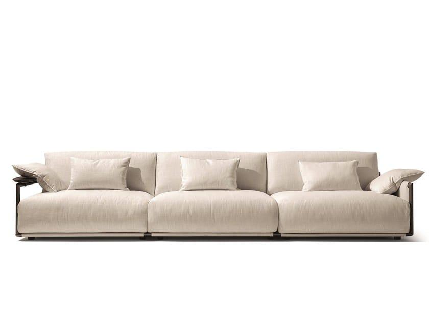 3 Seater Fabric Sofa Adam By Giorgetti