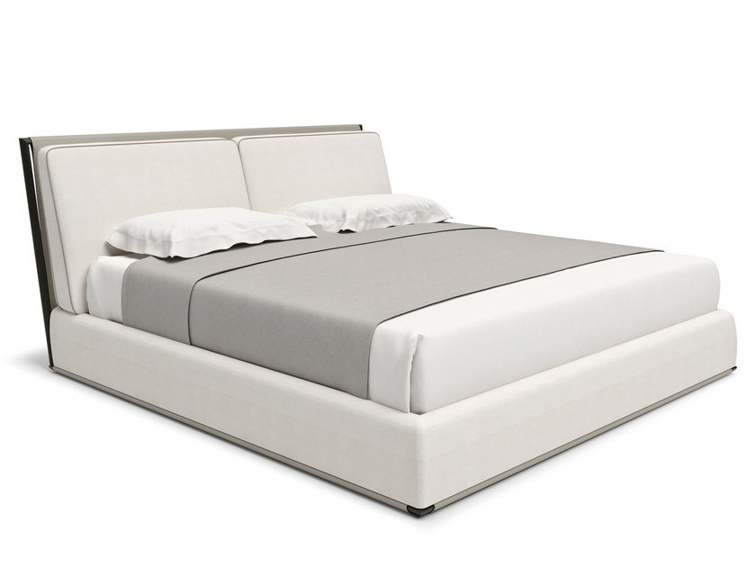 Upholstered fabric bed ADAM by Giorgetti