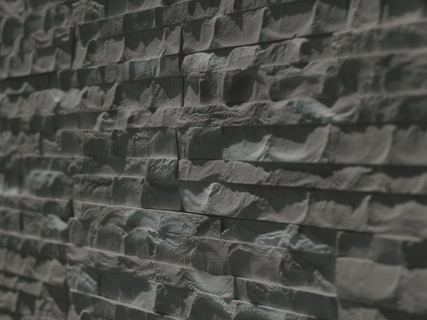 Ecological fireproof frost proof wall tiles ADAMELLO by BIOPIETRA®
