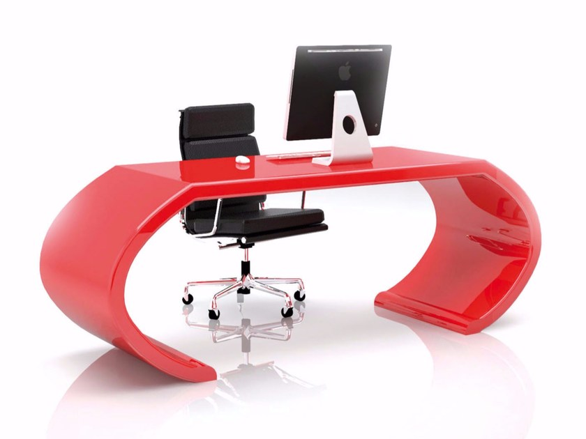 Lacquered Adamantx® workstation desk ADAMS by ZAD ITALY