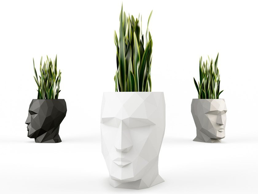 Plastic planter ADAN | Planter by VONDOM