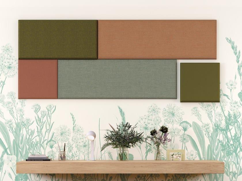 Pannelli decorativi acustici ADDENDA | Pannello acustico a parete by Manade
