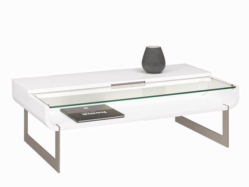 ADDICT | Table basse avec rangement By GAUTIER FRANCE