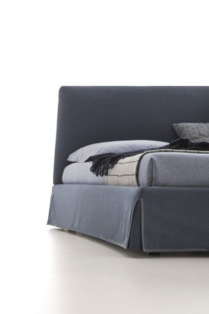 Fabric Bed With High Headboard With Upholstered Headboard ADEL By Ditre  Italia Design Stefano Spessotto, Lorella Agnoletto