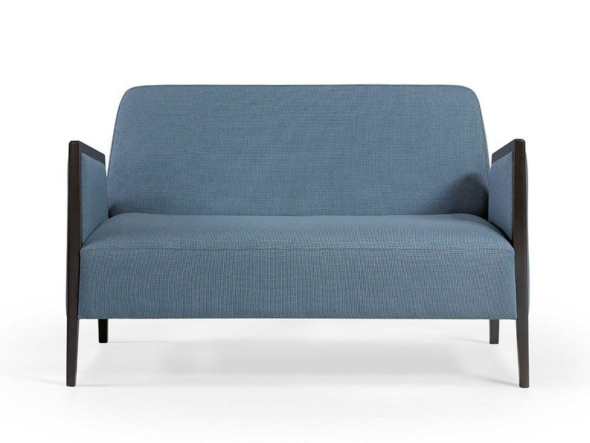 2 seater fabric sofa ADEL SOFA by Fenabel