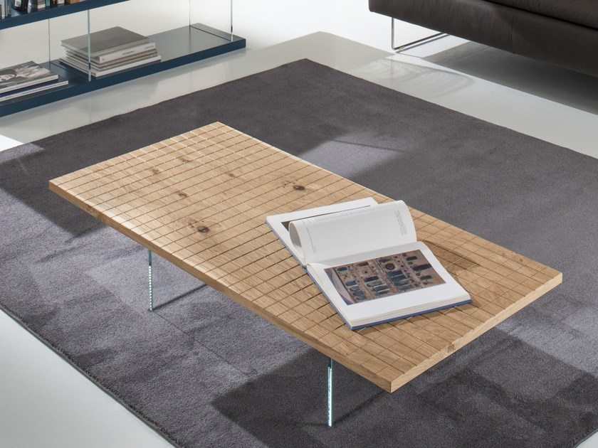 Wooden coffee table ADELE by IDEAS Group