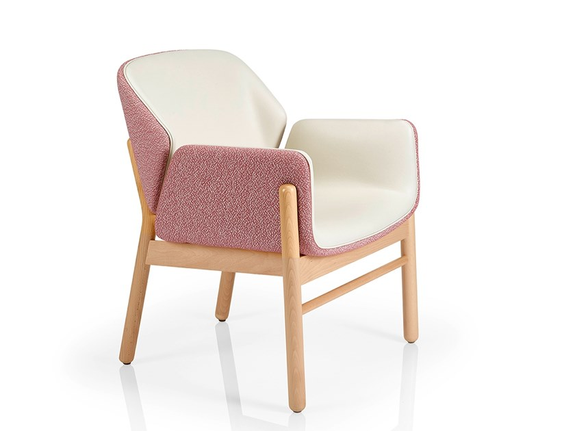 Easy chair with armrests ADELE | Easy chair by JMS