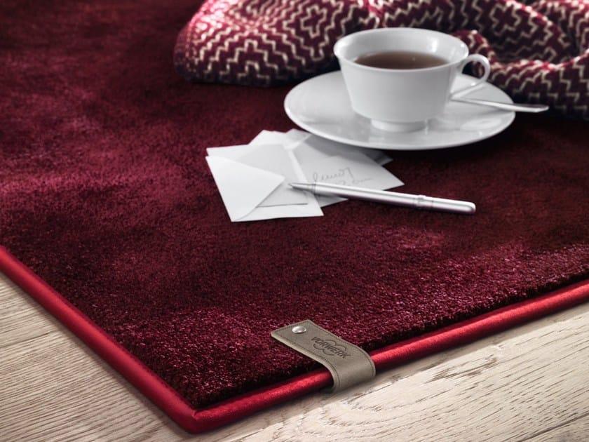 Solid-color rug ADELE by Vorwerk Teppichwerke