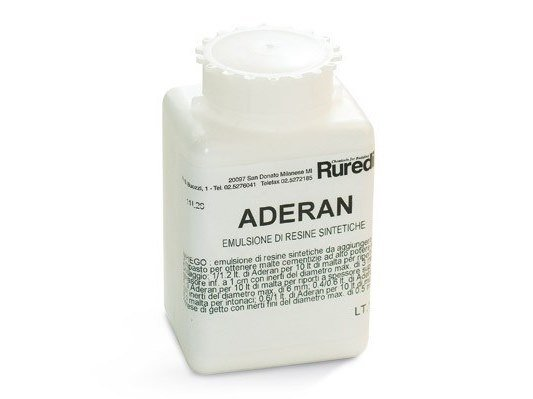Additive for cement and concrete ADERAN by RUREDIL