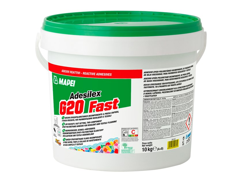 Tile Adhesive ADESILEX G FAST By MAPEI - Acrylic tile adhesive vs thinset