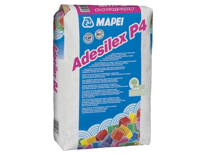 Adesivo cementizio ad alte prestazioni autobagnante ADESILEX P4 by MAPEI