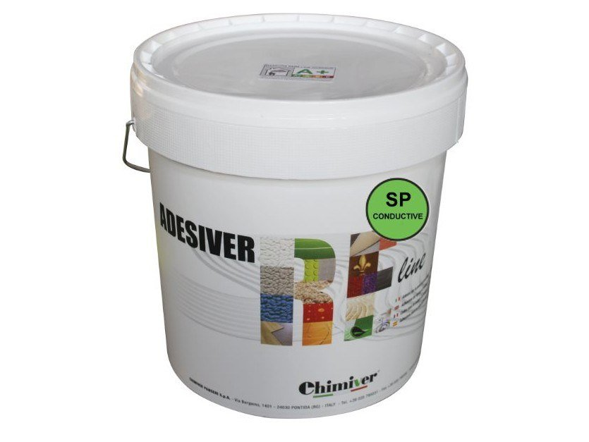 Tile adhesive ADESIVER RE 400/SP CONDUCTIVE by Chimiver Panseri