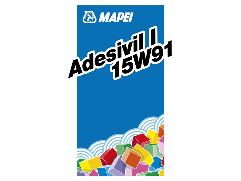 Wood-flooring adhesive ADESIVIL I 15W91 by MAPEI