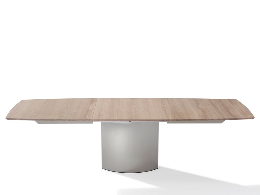 Extending Wooden Dining Table ADLER II | Wooden Table By Draenert