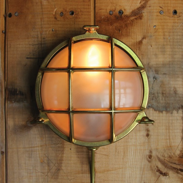 Adoo marine nautical wall light by mullan lighting mozeypictures Choice Image