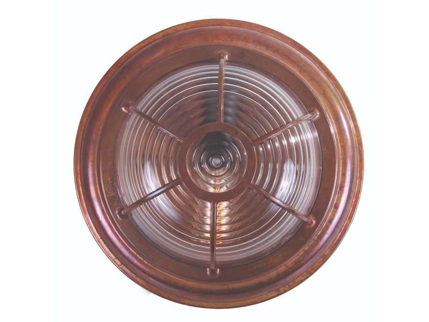 Plafoniera Ottone Esterno : Plafoniera a luce diretta fatta mano adur marine ceiling light