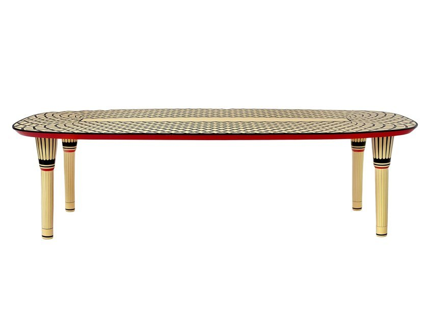 Rectangular dining table AELITA by Scarlet Splendour