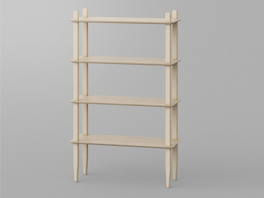 Solid wood shelving unit AETAS | Shelving unit by Vitamin Design