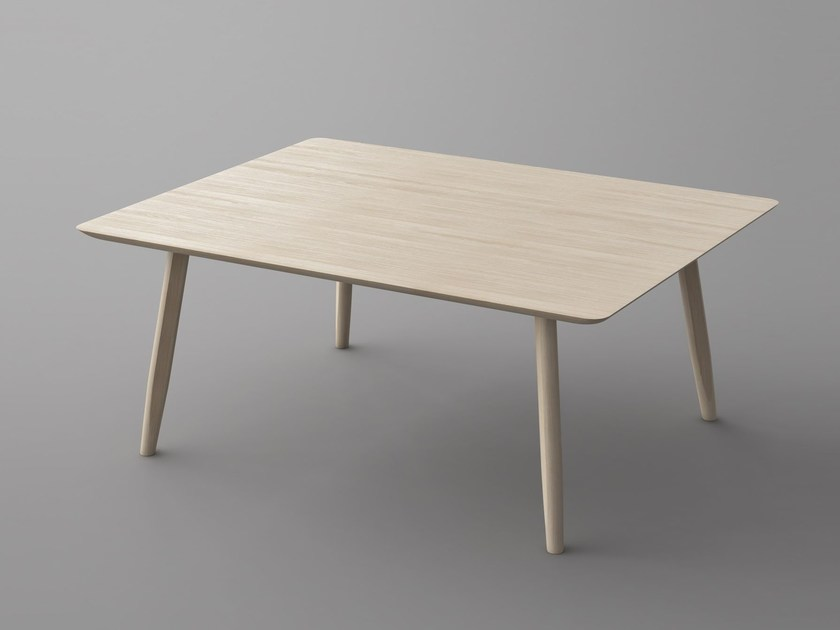 Rectangular solid wood table AETAS | Table by Vitamin Design