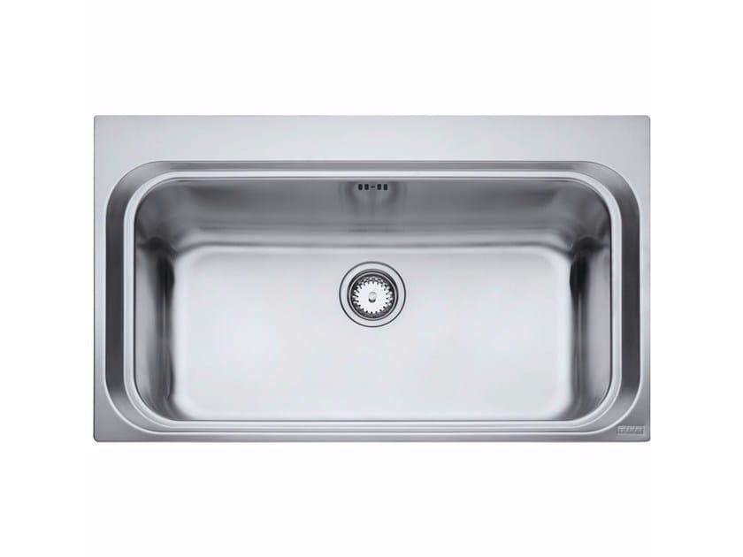 Lavello a una vasca da incasso in acciaio inox AEX 610 - FRANKE
