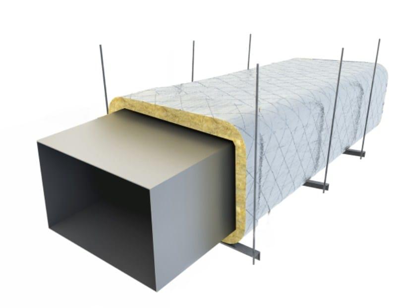 Fireproofing mat for ventilation ducts AF FIREGUARD 3 by AF SYSTEMS