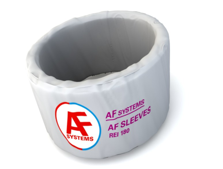 Fireproofing intumescent wraps AF SLEEVES by AF SYSTEMS