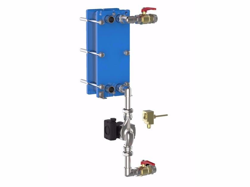 Accumulatore e produttore di acqua calda sanitaria AFK by Fiorini Industries