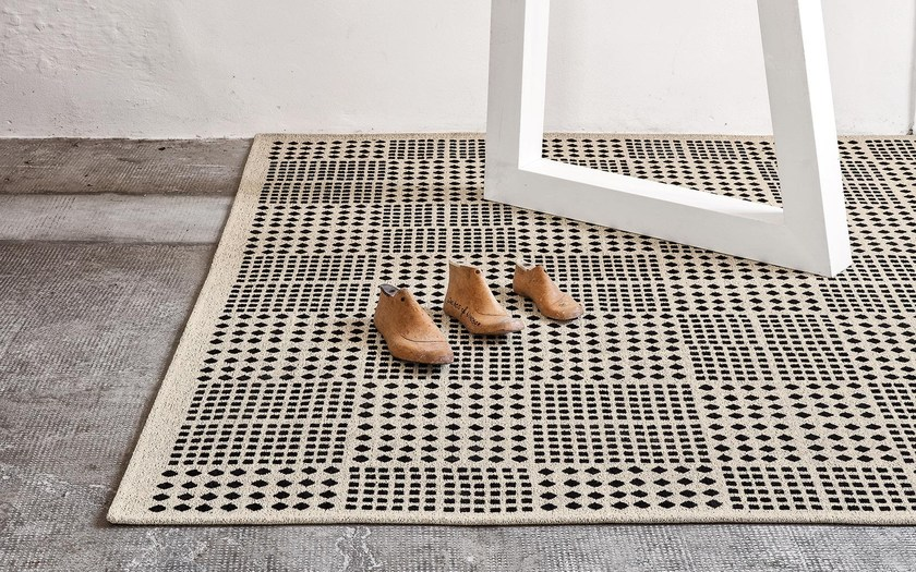 Rug With Geometric Shapes Africa By Calligaris Design Matteo Cibic