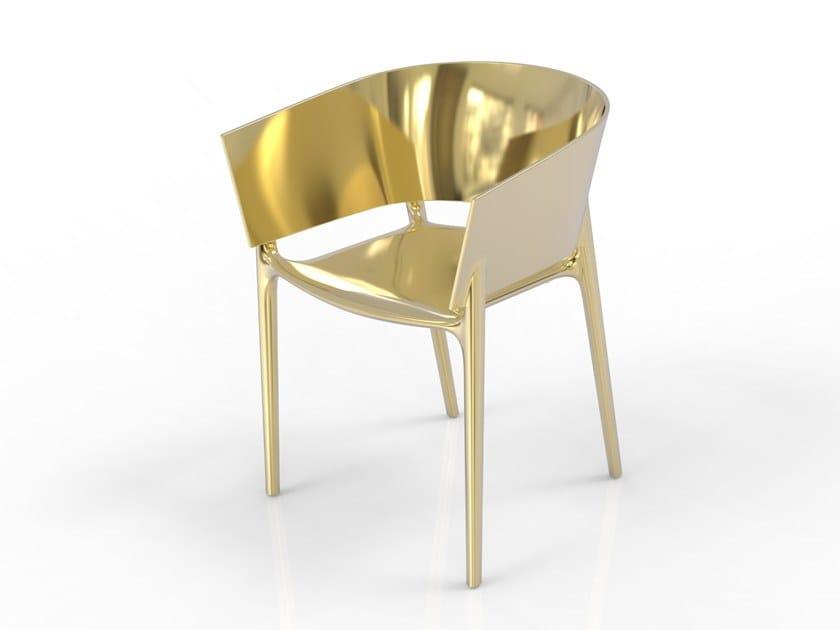 Garden chair with armrests AFRICA PREMIUM | Chair by VONDOM