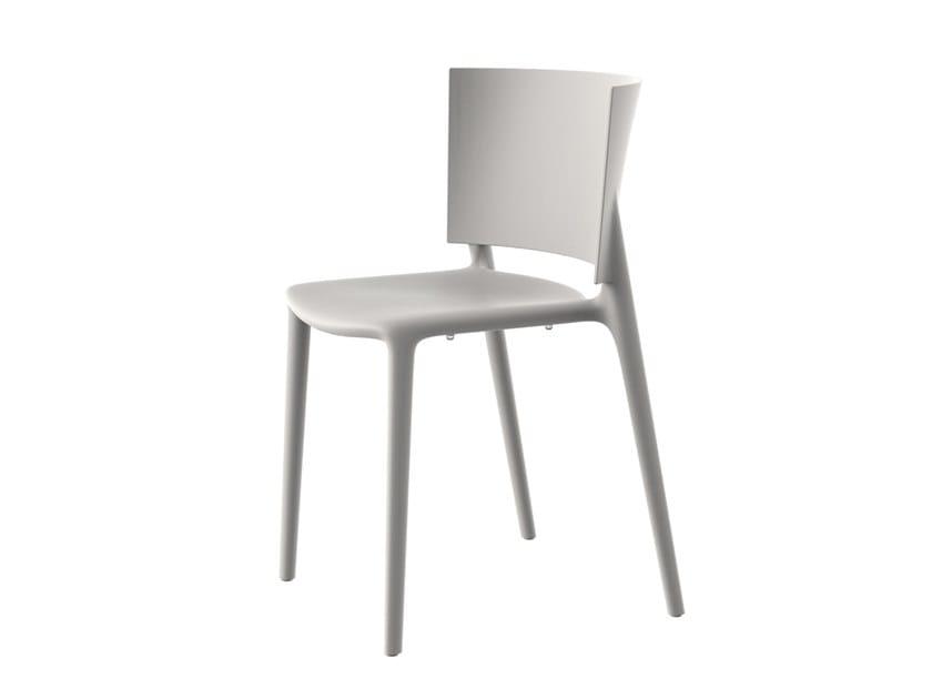 Garden chair AFRICA | Chair by VONDOM