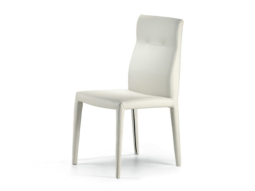 Upholstered leather chair AGATHA FLEX by Cattelan Italia