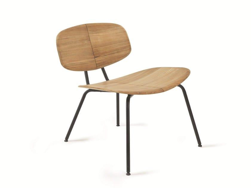 Garden teak easy chair AGAVE | Easy chair by Ethimo
