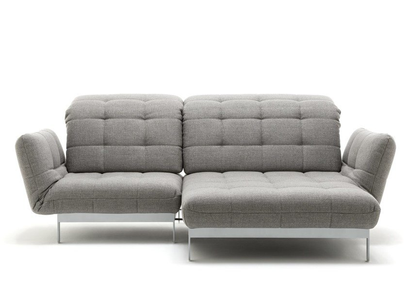AGIO | Sofa with chaise longue By Rolf Benz design BECK DESIGN