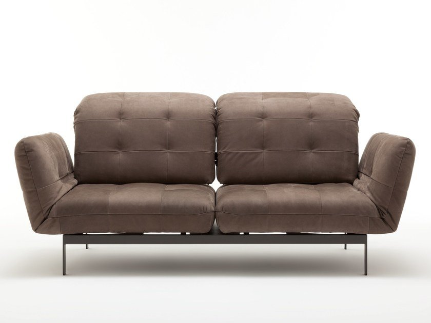 Tufted Leather Sofa AGIO   Leather Sofa By Rolf Benz