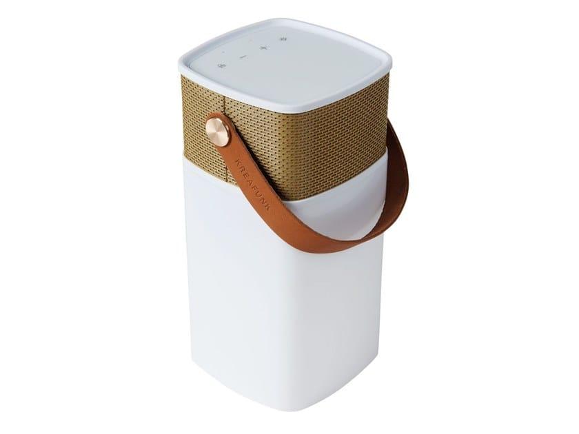 Bluetooth portable speaker aGLOW by Kreafunk