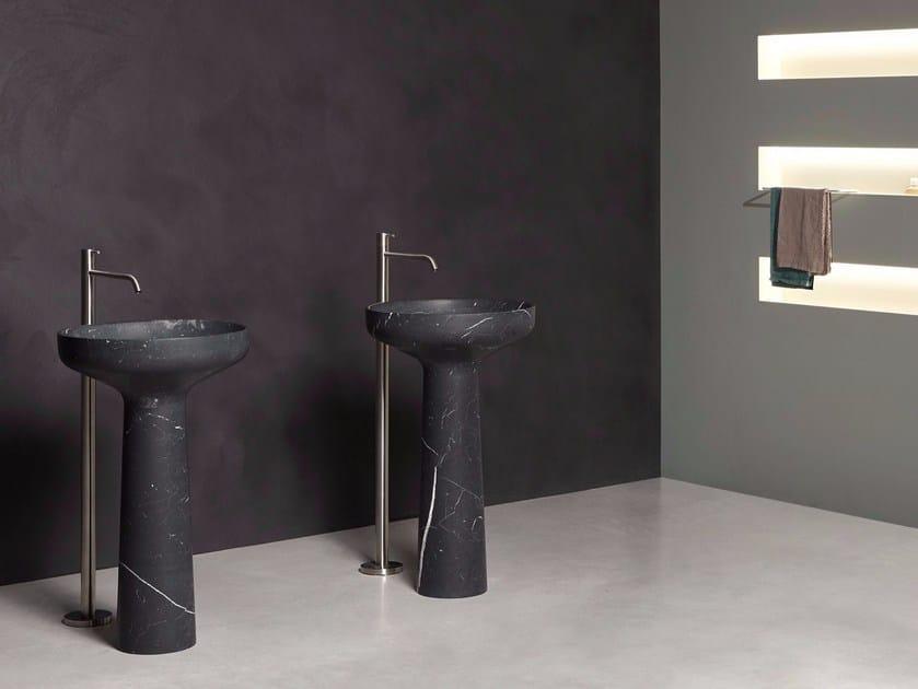 Freestanding marble washbasin AGO 85 | Marble washbasin by Antonio Lupi Design