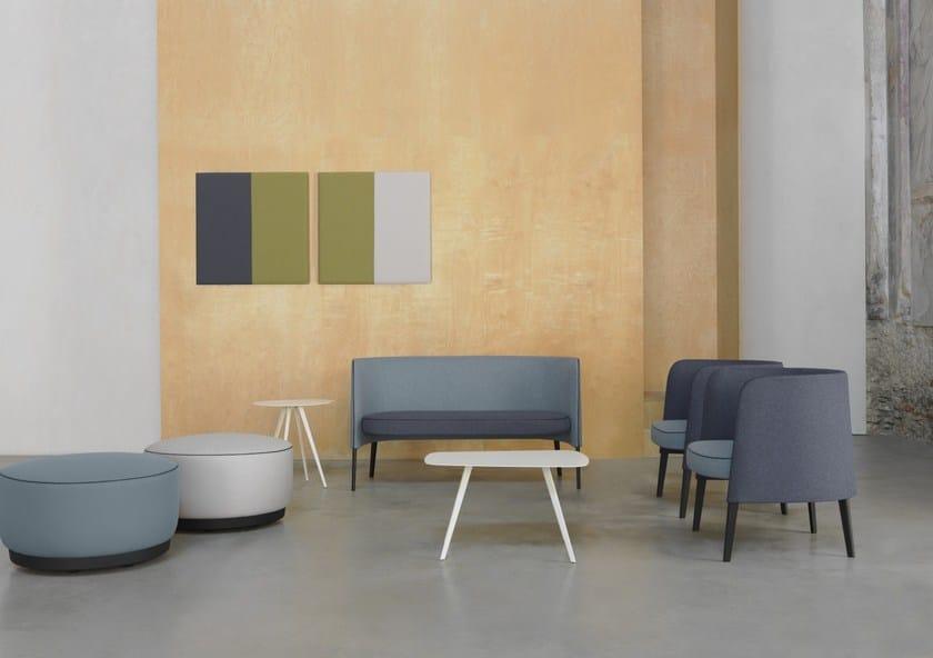 AGORÀ | Decorative acoustical panel Agorà Collection By Segis design ...
